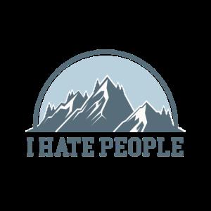 Ab in die Berge I hate People