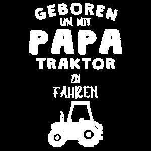 Baby Geburt Traktor Geschenkidee