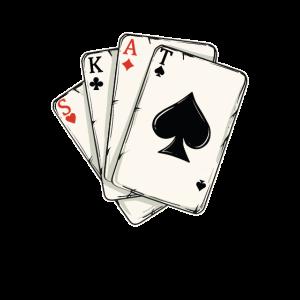Skat Skatspieler Karten Geschenk