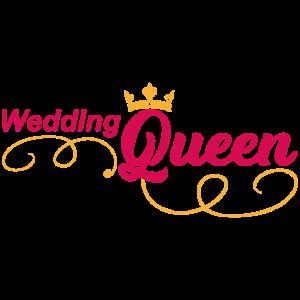 Wedding Queen Braut Hochzeit Ehe Geschenk