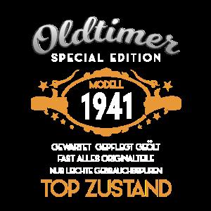 80. Geburtstag Oldtimer 1941 2021