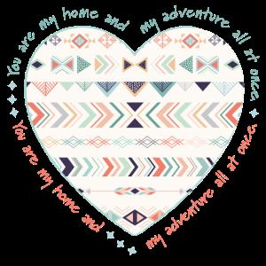 Du bist mein Zuhause und mein Abenteuer auf einmal