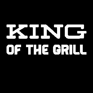 der König vor dem Grill