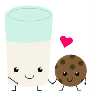 Milk & Cookie Love, Kekse und Milch Liebe