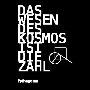 Pythagoras White - Wesen des Kosmos ist die Zahl