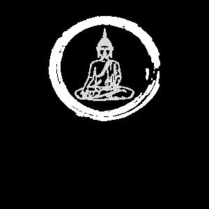Göttlicher Buddha - Gebürsteter Kreis