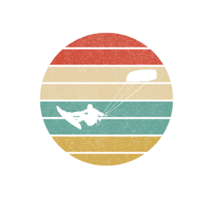 Retro Kitesurfing Kiteboarding
