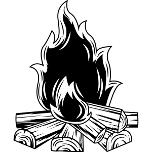 lagerfeuer flamme symbol
