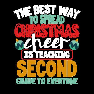 Weihnachtsgeschenk für Lehrer der zweiten Klasse