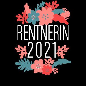 Rentnerin 2021 Rente Ruhestand Geschenk Retro