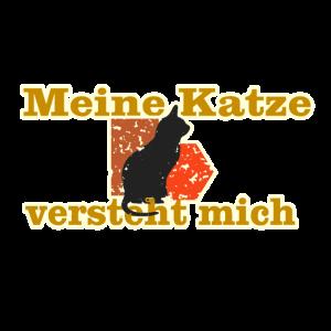 Schwarze Kate Katzenversteher