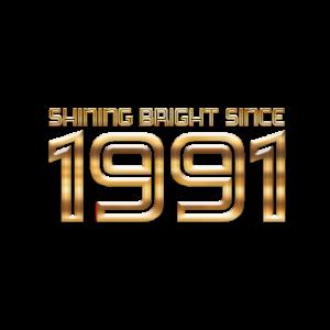 1991 gold shining bright since Jubiläum