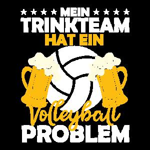 Trinkteam Volleyball