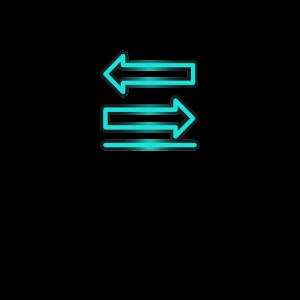 Zwei Pfeile Diagramm