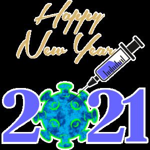 2021 Happy New Year Corona