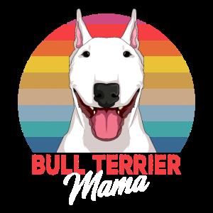 Bullterrier Hunde Mama Bull Terrier Hund