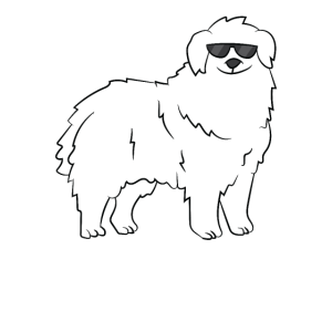 Great Pyrenees Dog Best Dog Ever Cute Pyrenees