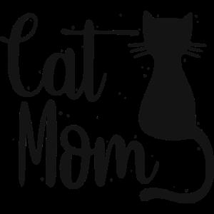 Cat Mom Katze Katzenliebhaber Katzen Mama Niedlich