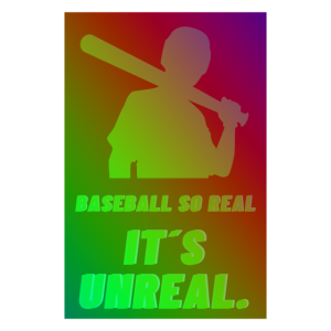 Baseball so real its unreal +++ Cool Sport Design