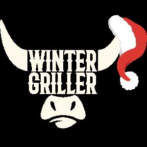 Grillmotiv Wintergriller