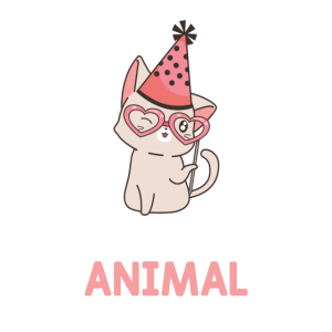 Cute Cat Fairy Pawty Animal