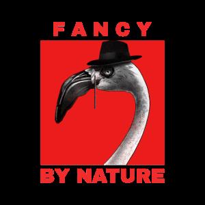 Fancy by nature. Flamingo Sprüche