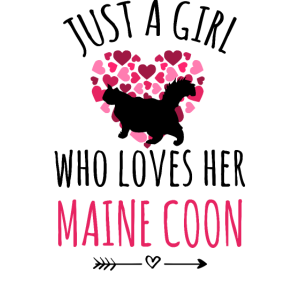 Maine-Coon-Katze Geschenk Amerikanische Waldkatze