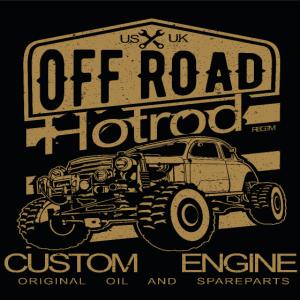 Offroad Hotrod CS5 POSTER