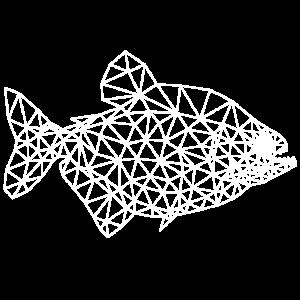 piranha fisch polygon symbol