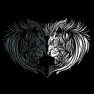Löwe gegensätze