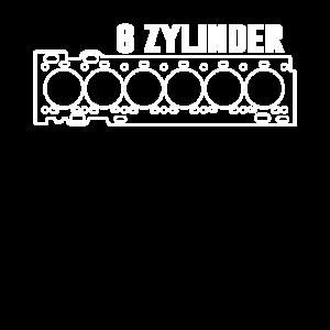 6 Zylinder Motor 6 Zylinder Fahrer