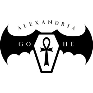 Alexandria Gothe Goth Queen'18+Quote by A.G. Black