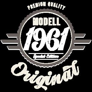Modell 1961 Original Oldtimer Badge 60 Geburtstag