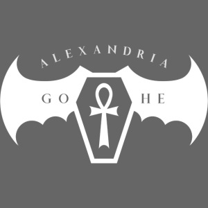 Alexandria Gothe Goth Queen'18+Quote by A.G. White