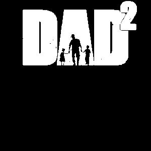 zweifacher Papa Vater zwei Kinder Vatertag
