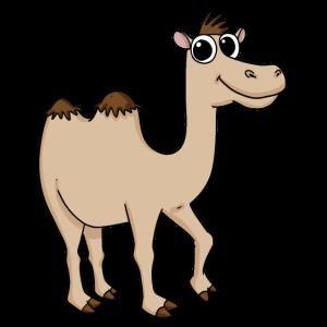 Niedliches Kamel