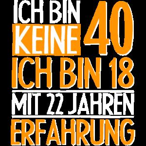 40 Geburtstag Lustige 40 Jahre Geburtstag Geschenk