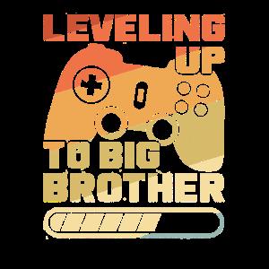 Vintage Leveling up Großer Bruder Big Brother