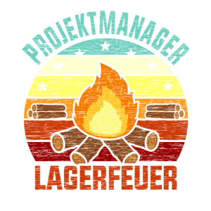 Projektmanager Lagerfeuer Feuerholz Brennholz Holz
