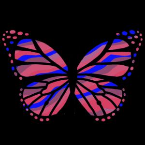 Schmetterling Retro