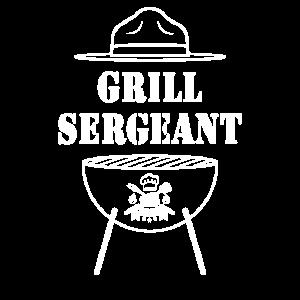 Grill Sergeant Barbecue BBQ Grillen Spaß Geschenk