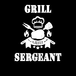 Grill Sergeant Barbecue BBQ Grillen Witz Geschenk