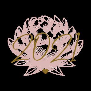 2021 vor Lotus Blüte