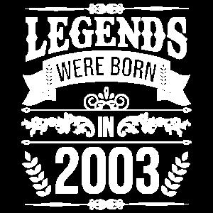 18. Geburtstag 2003 Volljährig
