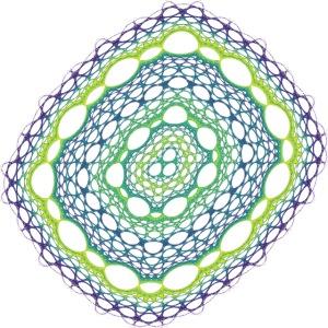 Emerald weave spun from the chaos 5320viridis