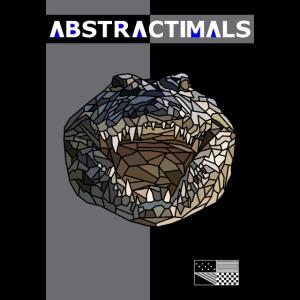 ABSTRACTIMAL Crocodile Print