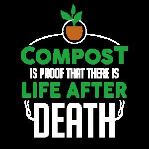 Gardener Garden Lustiges Kompost-Gartengeschenk
