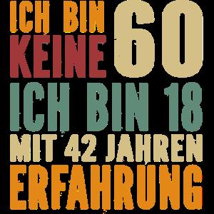 60. Geburtstag 60 Jahre Geburtstagspruch Geschenk