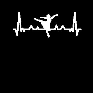 Herzschlag Herz Puls Pulsschlag Ballerina