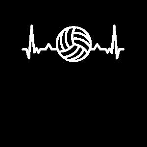 Herzschlag Herz Puls Pulsschlag Volleyball